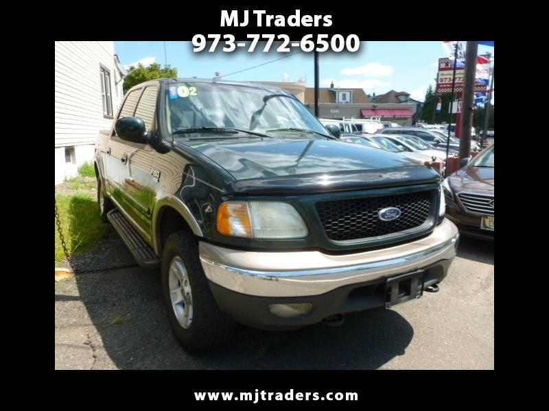Ford F-150 Lariat SuperCrew Short Bed 4WD 2002