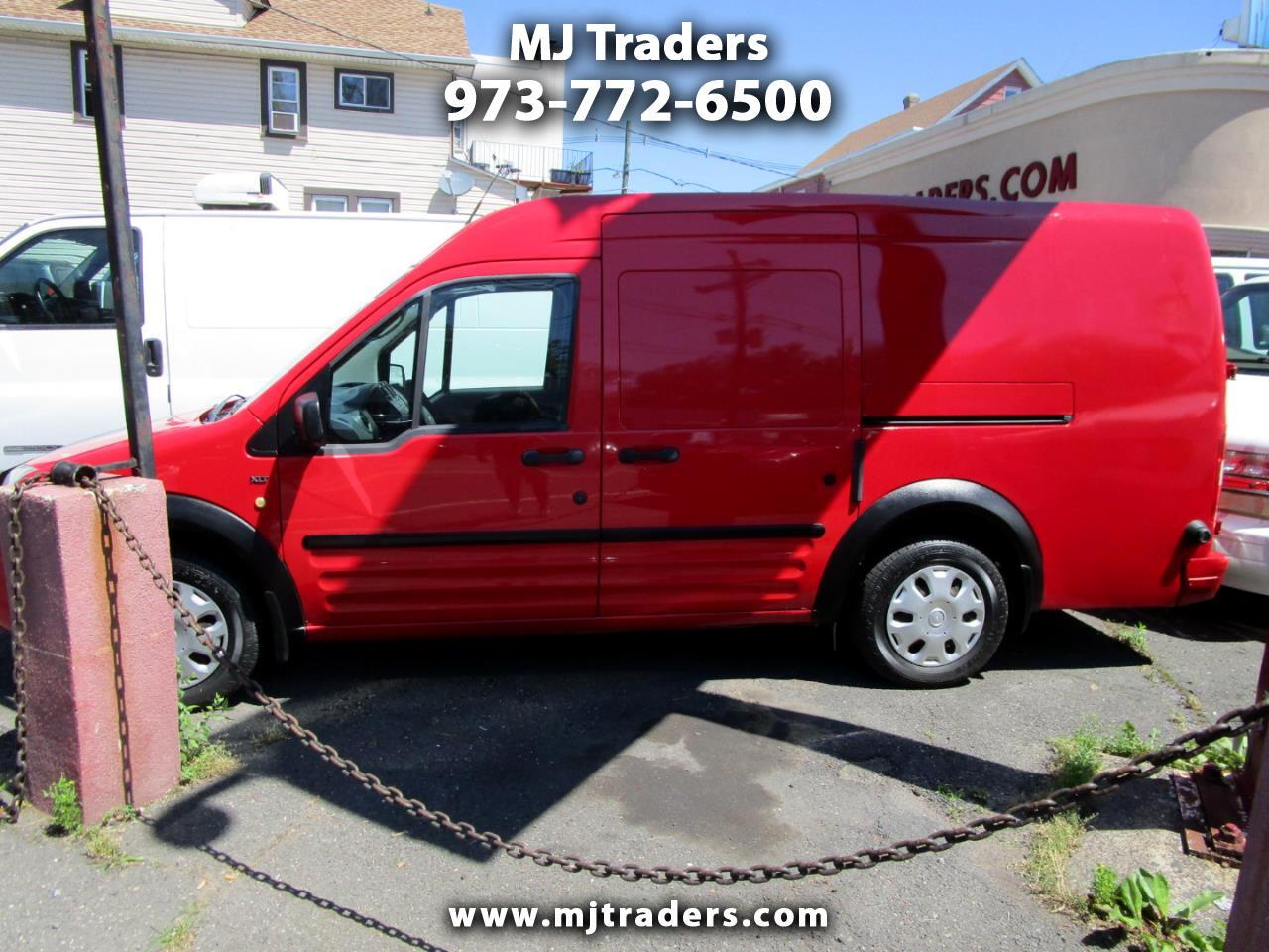Ford Transit Connect XLT with Side and Rear Door Glass 2011