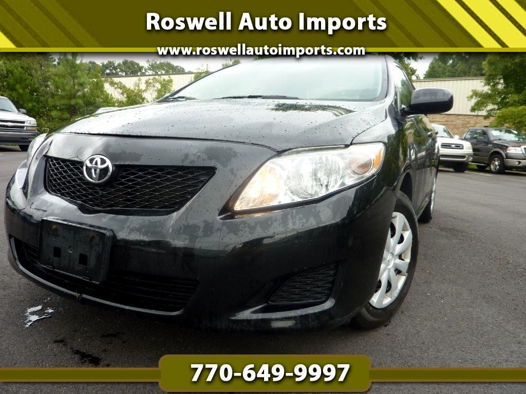 Toyota Corolla LE 4-Speed AT 2010