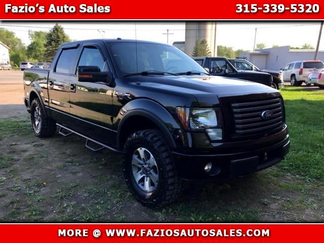 "2011 Ford F-150 SuperCrew 150"" FX4 4WD"