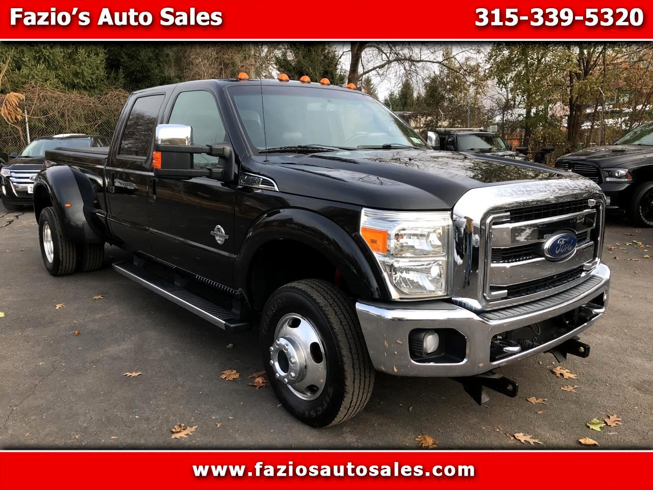 Ford F-350 SD Lariat SuperCab Long Bed DRW 4WD 2012