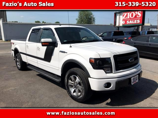 "2014 Ford F-150 SuperCrew 150"" FX4 4WD"
