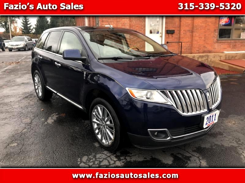 2011 Lincoln MKX AWD 4dr Reserve