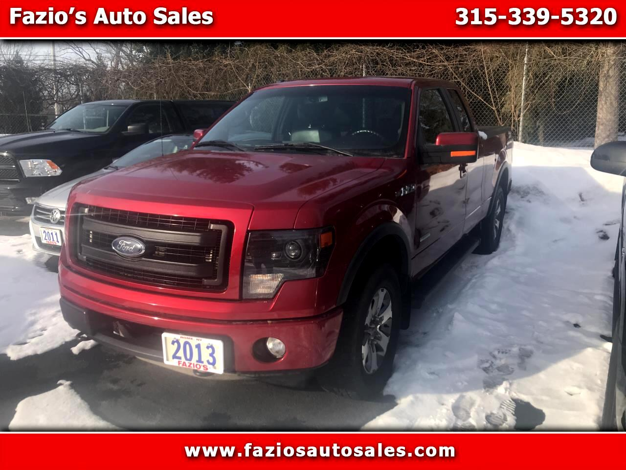"2013 Ford F-150 Supercab Flareside 145"" FX4 4WD"