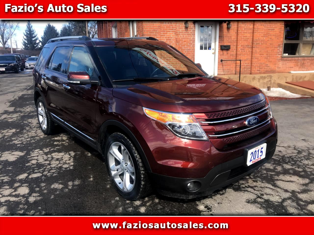 "2015 Ford Explorer 4dr 112"" WB Limited 4WD"