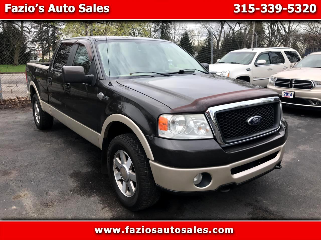 2007 Ford F-150 4WD SuperCrew 139
