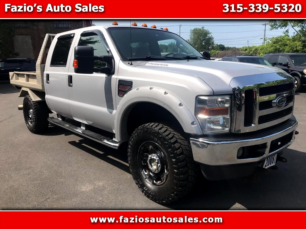 2008 Ford F-350 SD XLT Crew Cab Short Bed 4WD