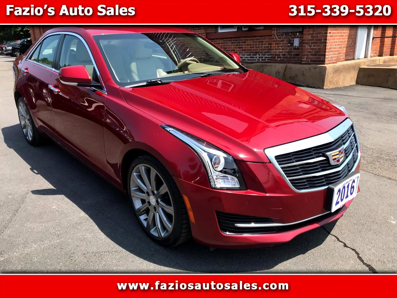 2016 Cadillac ATS 2.0L Luxury AWD