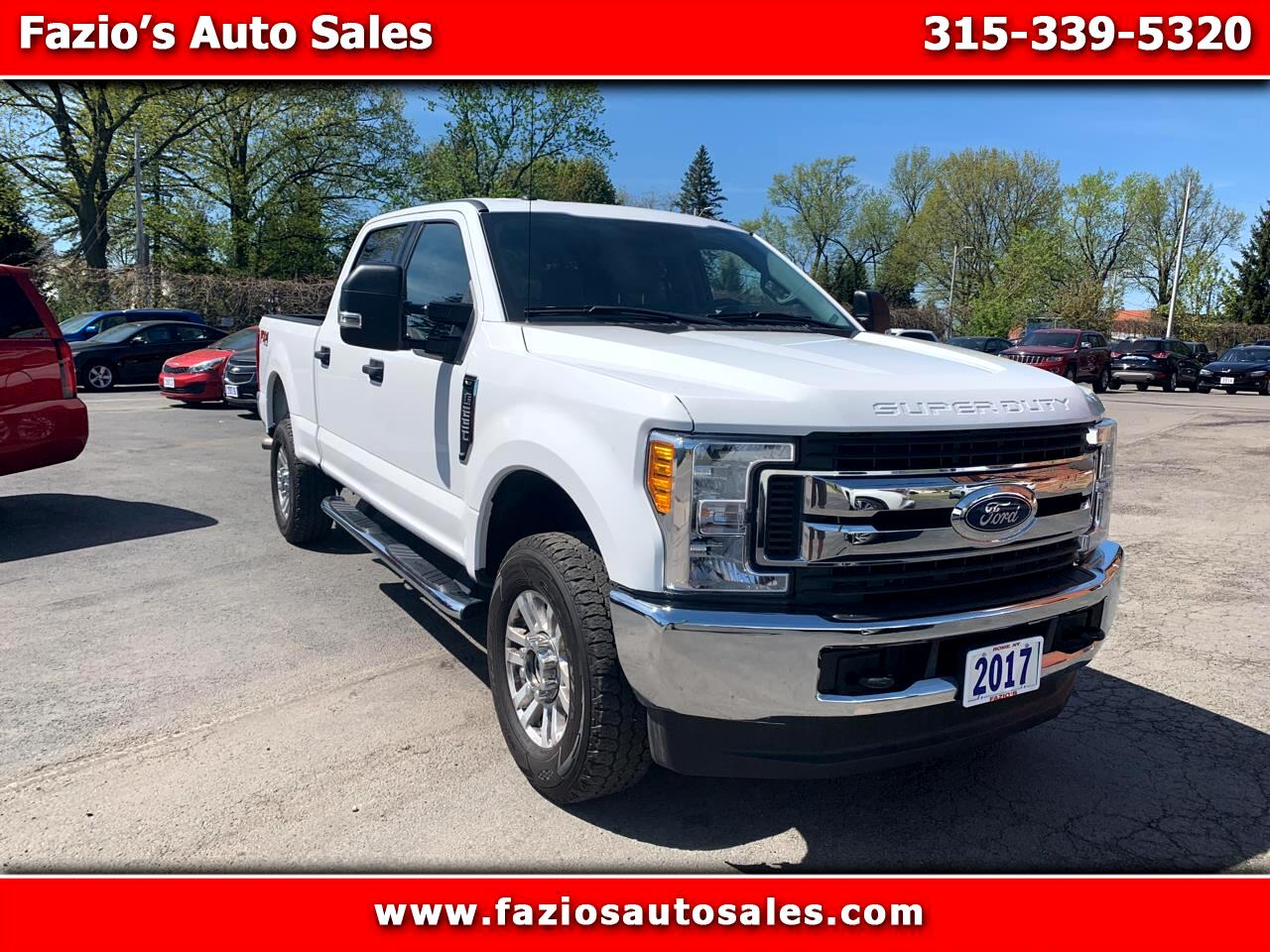 Ford F-250 SD XLT Crew Cab Short Bed 4WD 2017