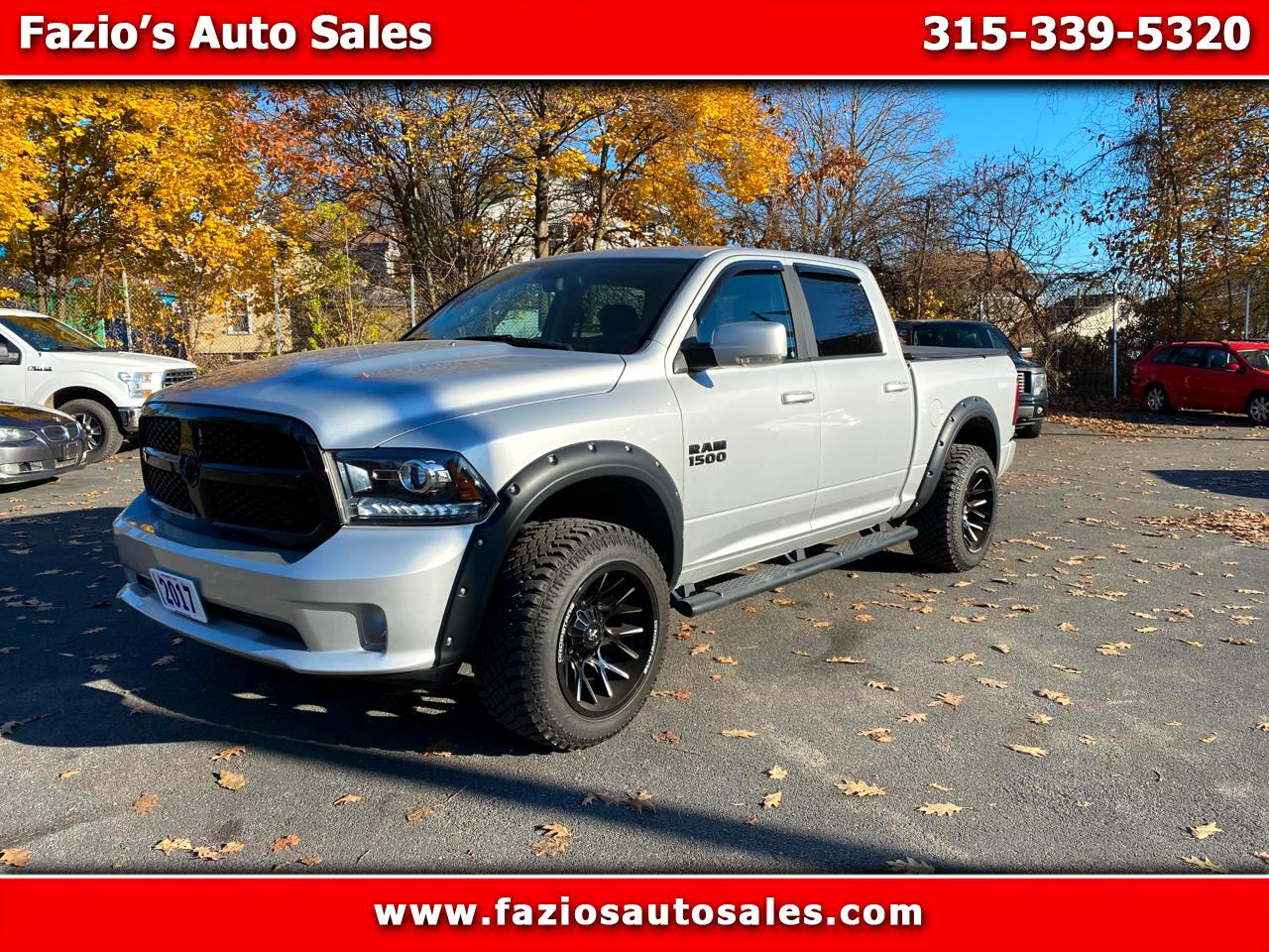 "RAM 1500 Night 4x4 Crew Cab 5'7"" Box 2017"