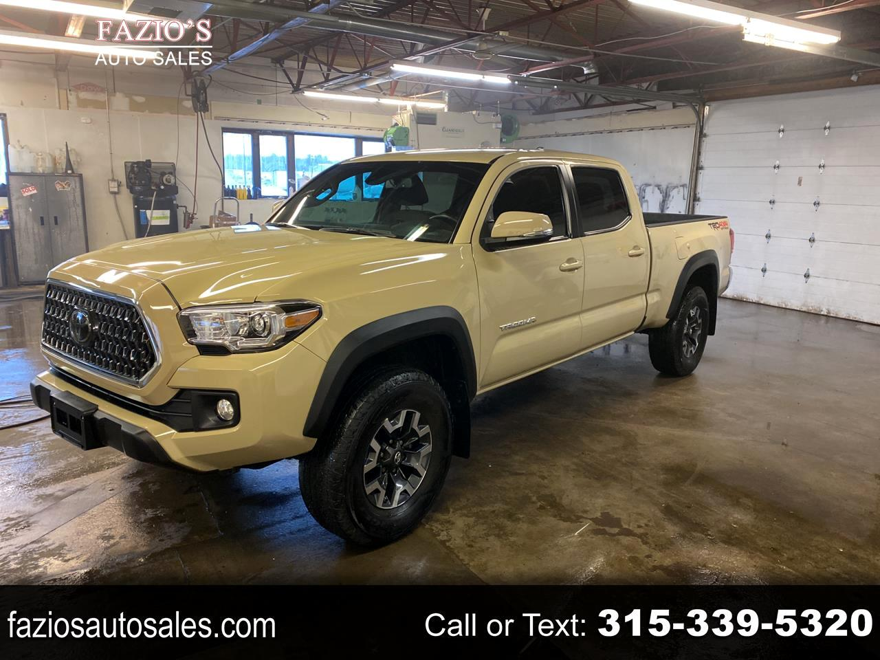 Toyota Tacoma TRD Off Road Double Cab 6' Bed V6 4x4 AT (Natl) 2018