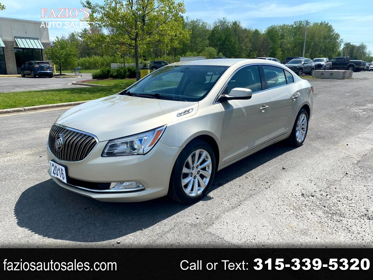 Buick LaCrosse 4dr Sdn Base FWD 2016