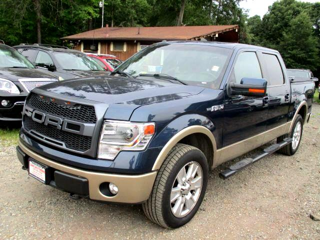 2013 Ford F-150 Lariat SuperCab 5.5-ft 4WD