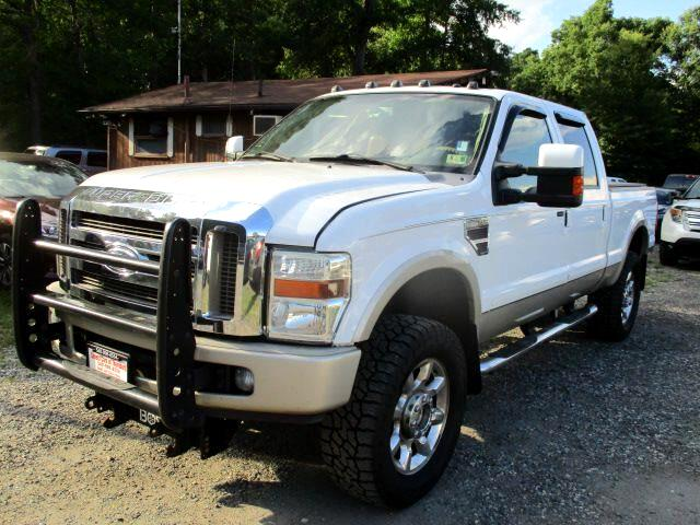2008 Ford F-250 SD King Ranch Crew Cab Long Bed 4WD