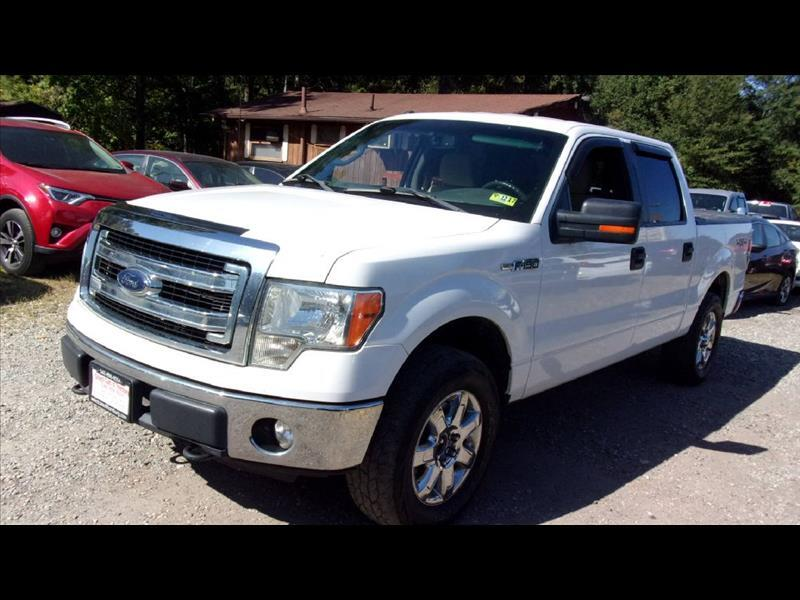 2013 Ford F150 F-150 XLT SuperCrew 5.5-ft. Bed 4WD