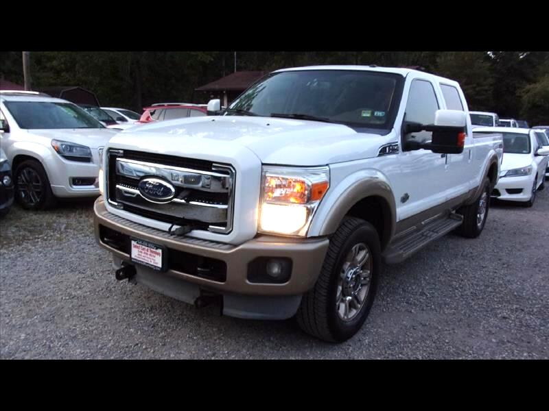2011 Ford F250 F-250 SD King Ranch Crew Cab 4WD