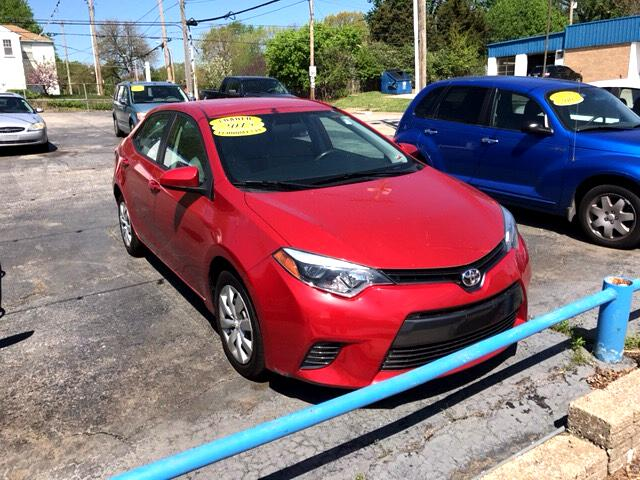 2015 Toyota Corolla LE 4-Speed AT