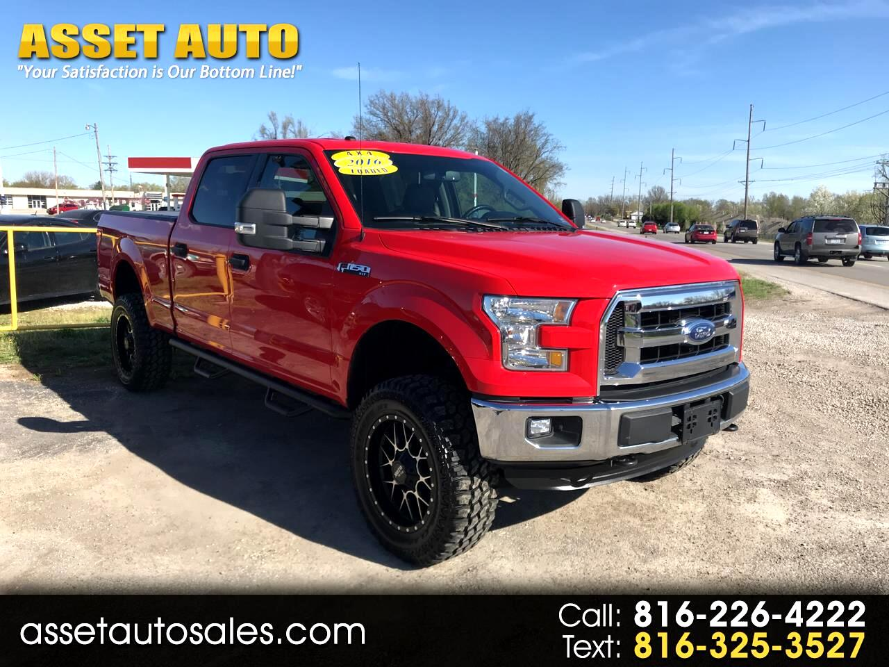 2016 Ford F-150 XLT SuperCrew 4WD - LIFTED SUSPENSION