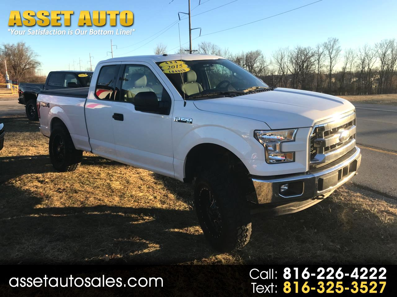 2015 Ford F-150 XLT SuperCab 4WD - LIFTED SUSPENSION