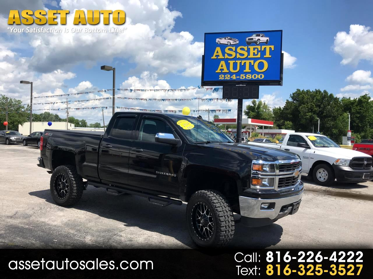 2014 Chevrolet Silverado 1500 LT Double Cab 4WD - LIFTED SUSPENSION
