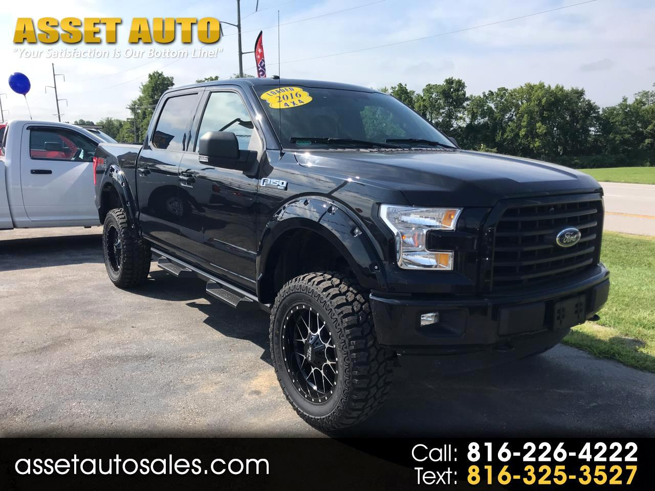 2016 Ford F150 Lifted >> Used 2016 Ford F 150 Xlt Supercrew Fx4 4wd Lifted