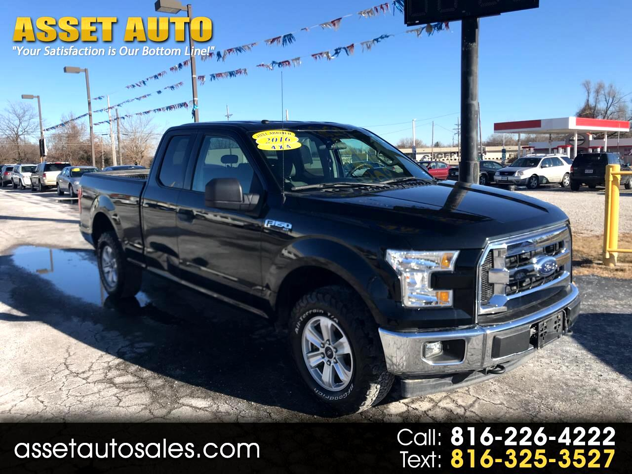 Ford F-150 XLT SuperCab 6.5-ft. Bed 4WD 2016
