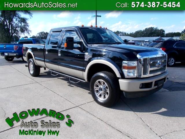2008 Ford F-350 SD KING RANCH 4X4 8FT BED DIESEL