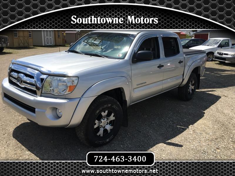 2008 Toyota Tacoma SR5 Double Cab 5' Bed V6 4x4 AT (Natl)