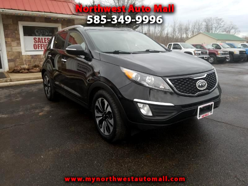 2011 Kia Sportage SX Turbo AWD