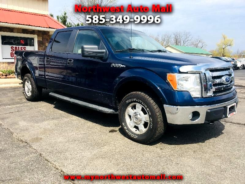 "2010 Ford F-150 SuperCrew 150"" XLT"