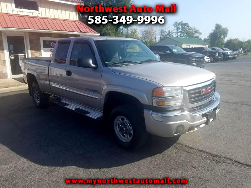 GMC Sierra 2500HD SLE Ext. Cab Long Bed 4WD 2004