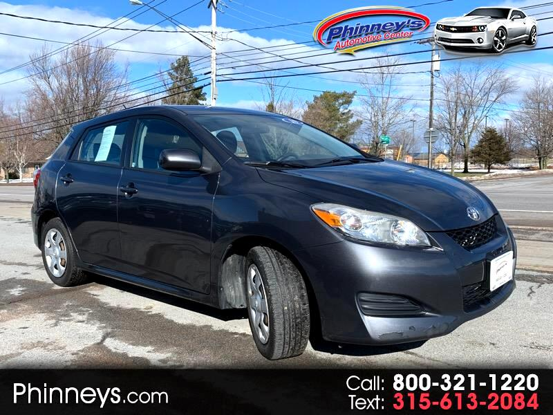 2010 Toyota Matrix 5dr Wgn Man FWD (Natl)