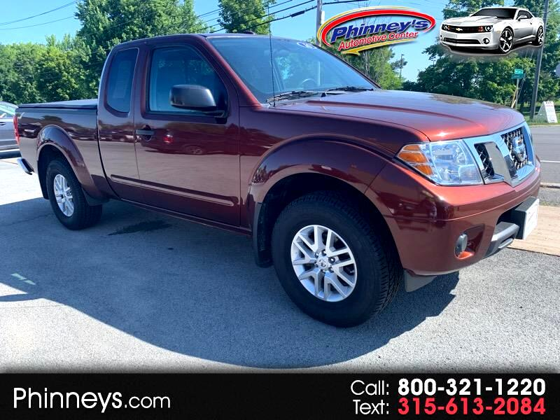 2016 Nissan Frontier 4WD King Cab Auto SV