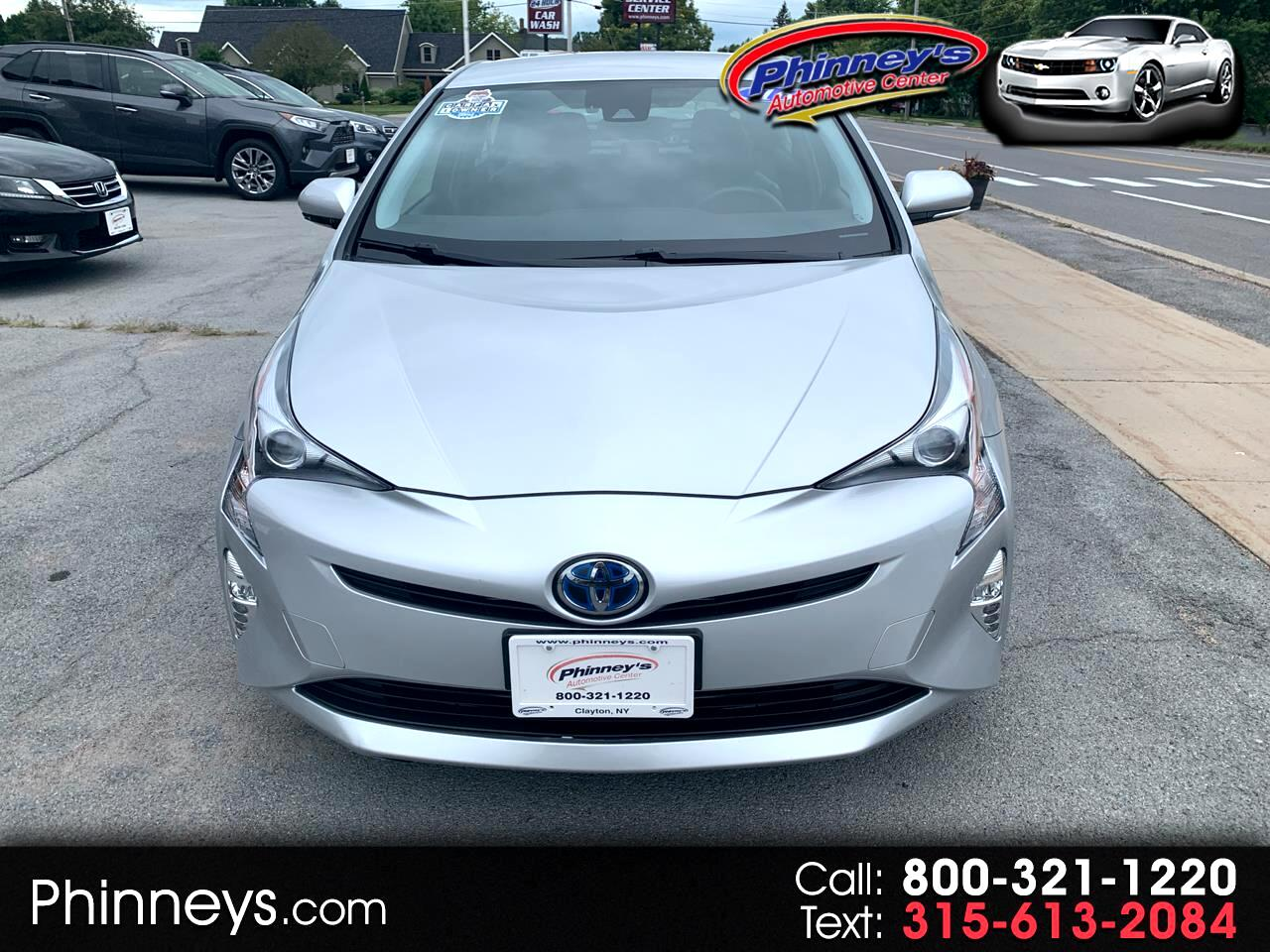 Toyota Prius 5dr HB Three Touring (Natl) 2016