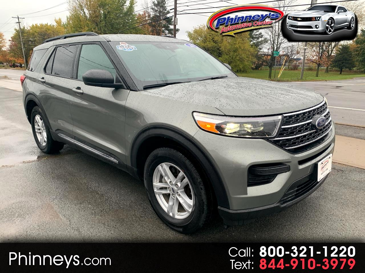 Ford Explorer XLT 4WD 2020