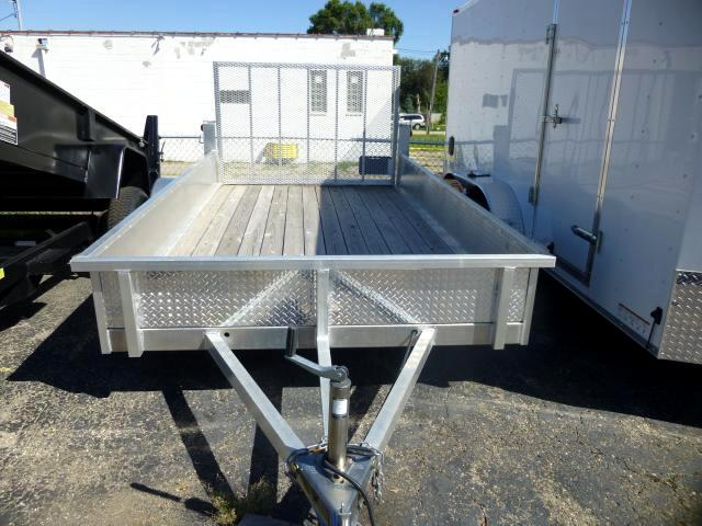 2011 Forest River COA6.512SA Open Aluminum Trailer