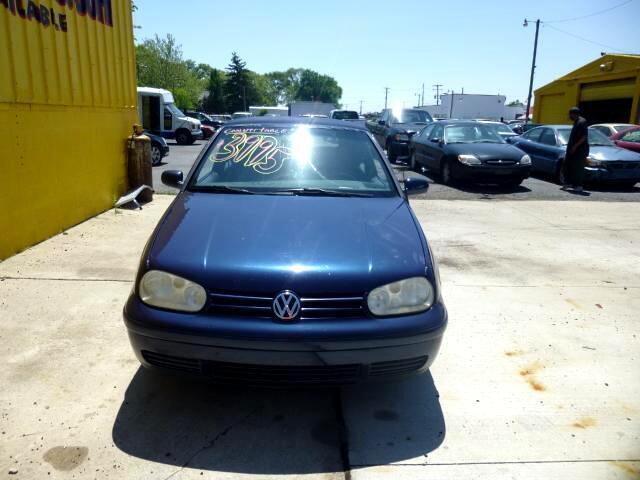 Volkswagen Cabrio GLS 2001