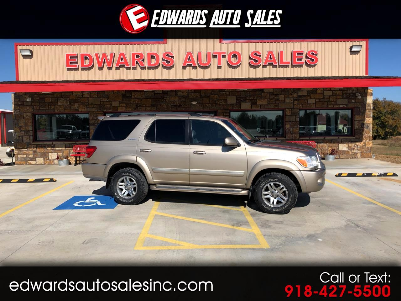 2006 Toyota Sequoia 4dr Limited 4WD (Natl)
