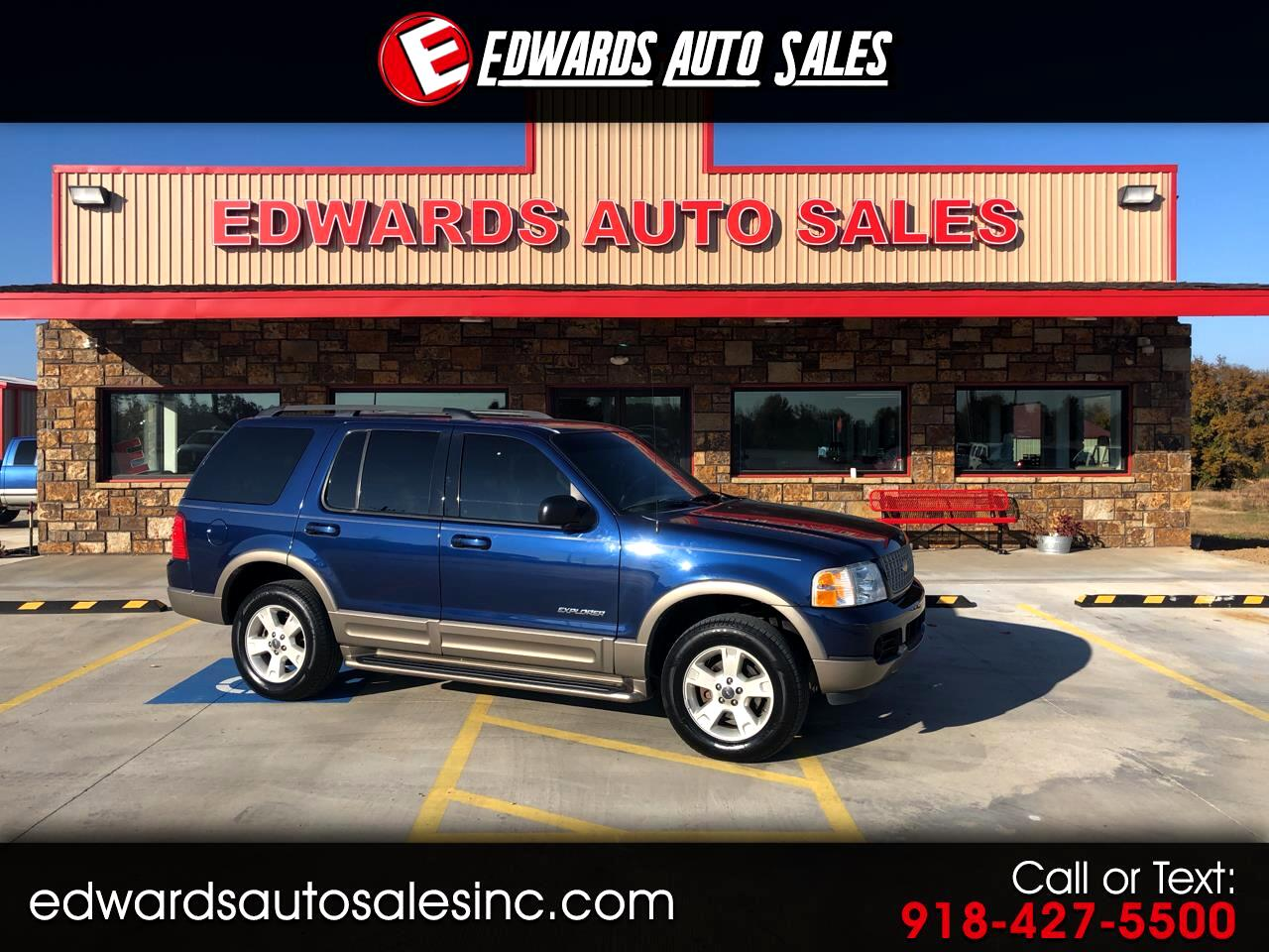 "2004 Ford Explorer 4dr 114"" WB 4.0L Eddie Bauer 4WD"