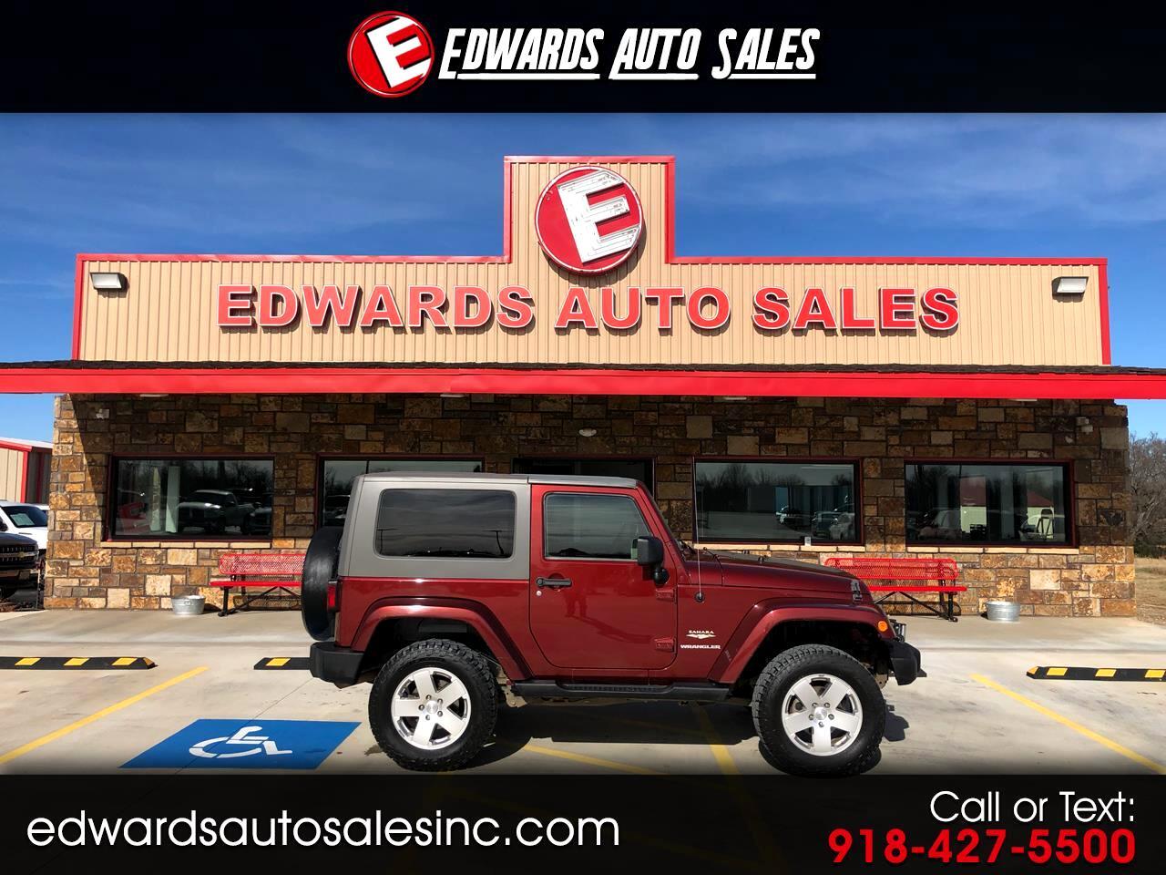 2010 Jeep Wrangler 4WD 2dr Sahara