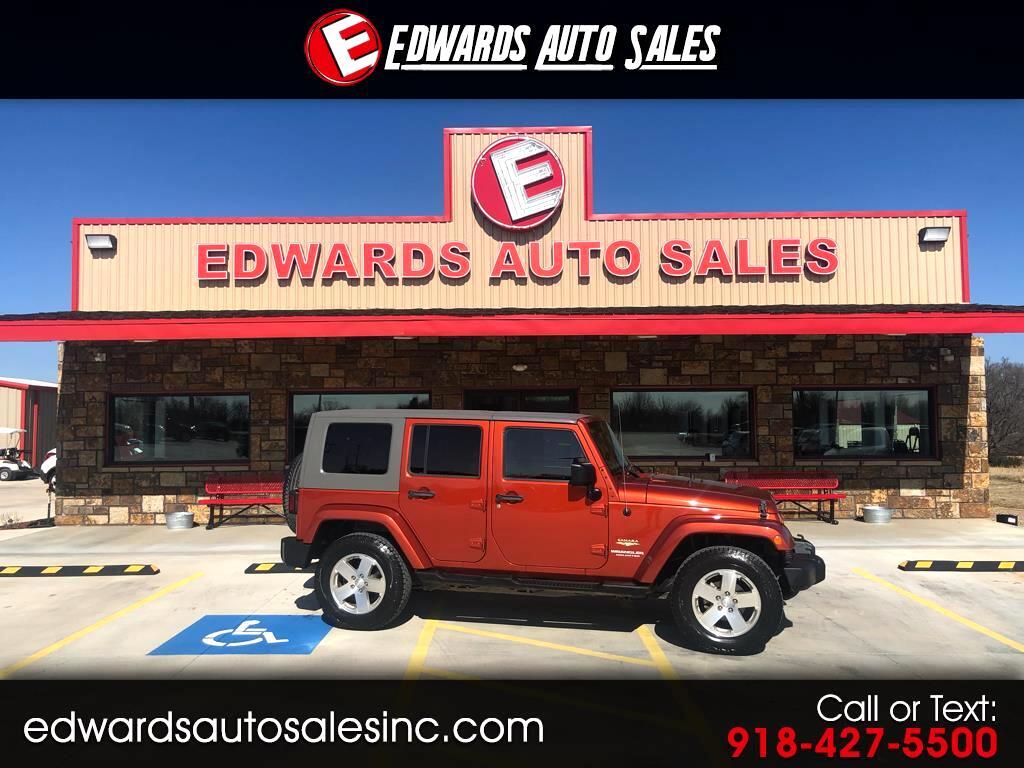 2009 Jeep Wrangler Unlimited 4WD 4dr Sahara