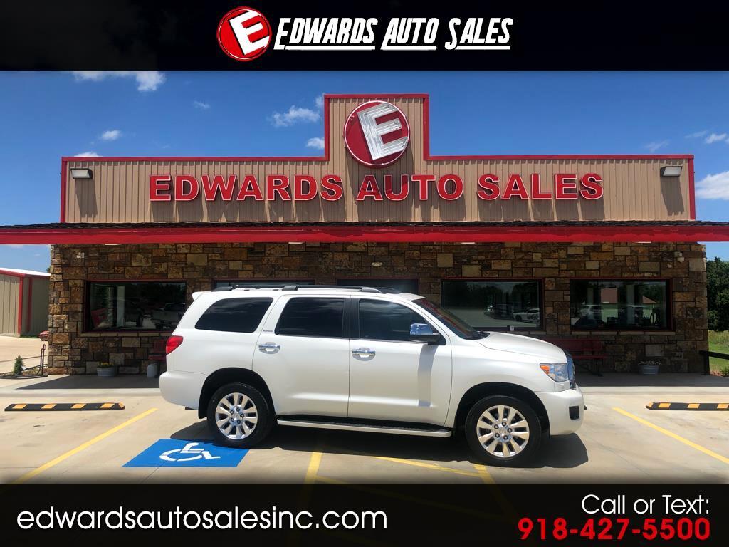 2010 Toyota Sequoia RWD LV8 6-Spd AT Platinum (Natl)