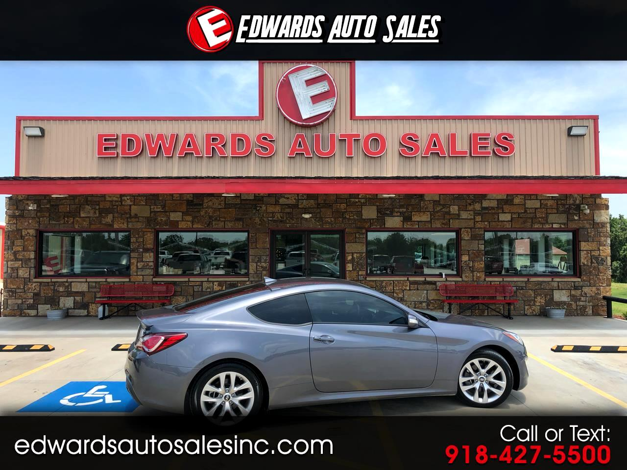 2016 Hyundai Genesis Coupe 2dr 3.8L Man Base w/Gray Seats