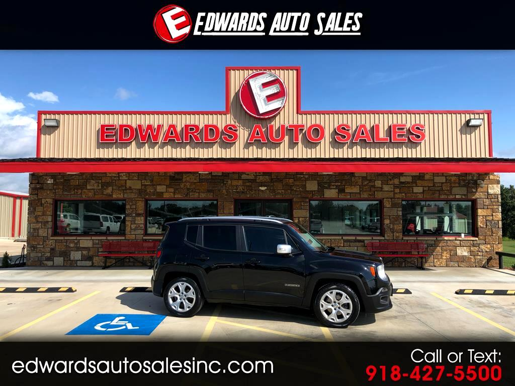 2015 Jeep Renegade FWD 4dr Limited