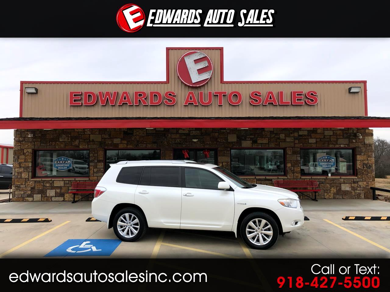 Toyota Highlander Hybrid 4WD 4dr Limited w/3rd Row (Natl) 2008