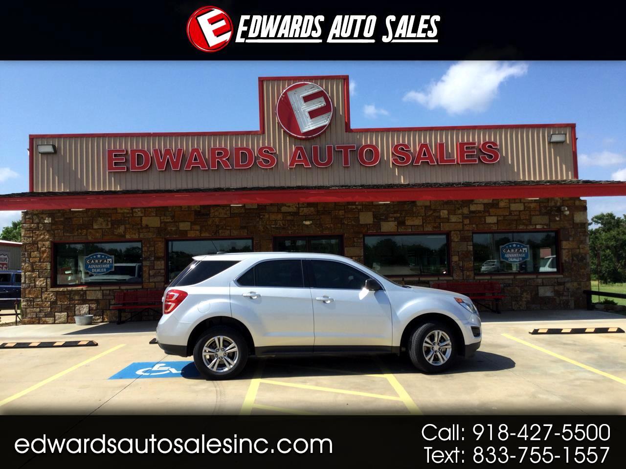 Chevrolet Equinox FWD 4dr LS 2016