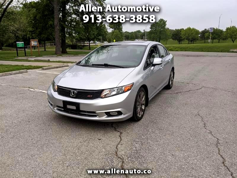 Honda Civic Si Sedan 6-Speed MT 2012