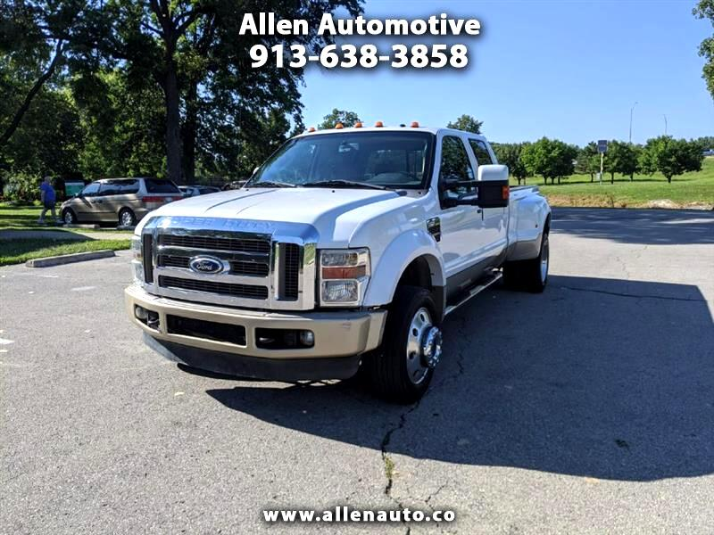 Ford F-450 SD XL Crew Cab 4WD 2008