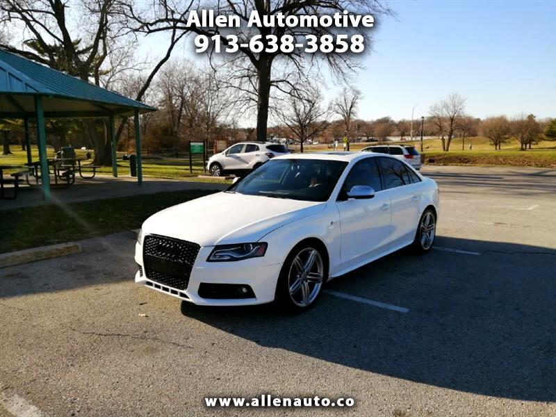 Audi S4 Sedan quattro S tronic 2011