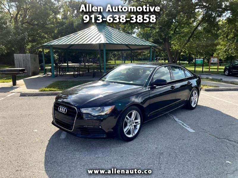 Audi A6 2.0T Premium Sedan FrontTrak Multitronic 2012